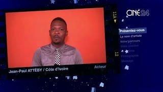 CINE 24 - Côte d'Ivoire: Jean-paul Attéby, acteur