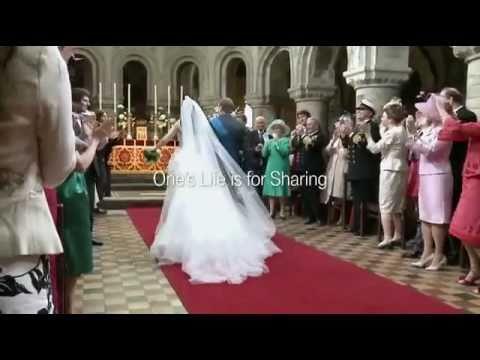 رقصات مثيرة للضحك في الزفاف الملكي للأمير ويليام