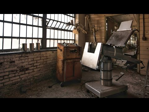 Abandoned 1800 s Collapsing Asylum Padded Rooms and Electroshock Machines