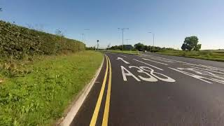Cheddar via Airport to Bristol by Bike GoPro August 2015