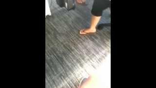 Cute Elegant Feet of Sri Lankan Girl