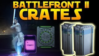 CRATE UNBOXING FIRST LOOK - Star Wars Battlefront 2 (Crate Overview)