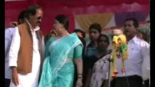 Bijnor   Nagma bursts over Congress candidate   YouTube