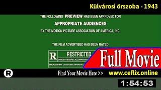 Kulvárosi örszoba (1943) Full Movie Online