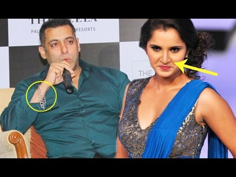 Salman Khan Talks About His Lucky Bracelet & Sania Mirza's Nose Ring!!
