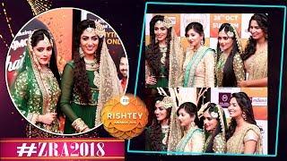 Ishq Subhan Allah: Shipsy Rana, Gunn Kansara, Monica Khanna & Anjita Poonia At #ZRA2018 Red Carpet