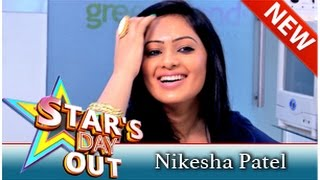 Actress Nikesha Patel in Stars Day Out (23/08/2014) - Part 1