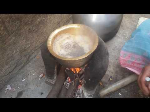 Making Hot tasty Tea on Village Desi Chulha