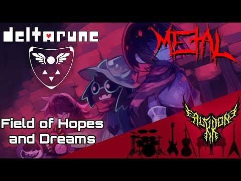 DELTARUNE - Fields of Hopes and Dreams 【Intense Symphonic Metal Cover】