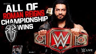 All Of Roman Reigns Championship Wins in WWE! (2012-2017)
