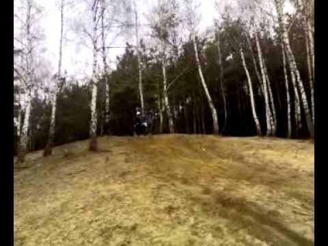 Yamaha DT Podjazd Pod Łysą Mława