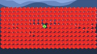 Bad Piggies - EXPERIMENT 1000 BALLOONS WITH ONE PIGGIES! (Field of Dreams)