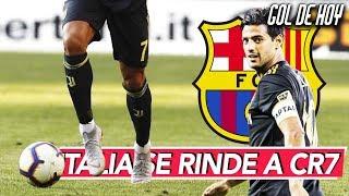 Italia a los pies de Cristiano I Barcelona fija el sucesor de Suárez