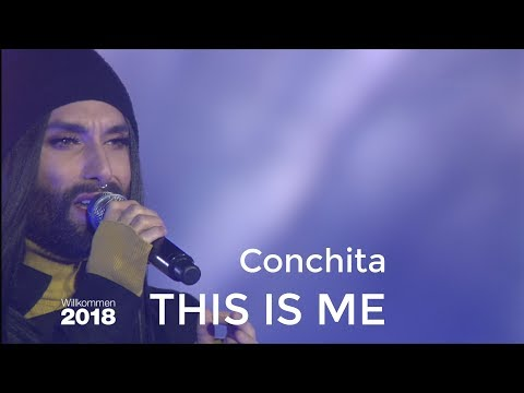 CONCHITA - THIS IS ME (The Greatest Showman) - Berlin Welcome 2018