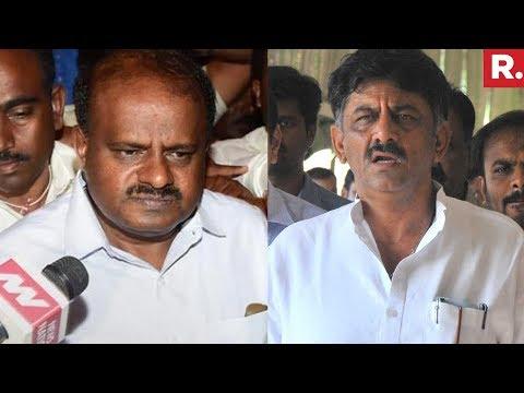 Xxx Mp4 DK Shivakumar And HD Kumaraswamy React On Yeddyurappa S Resignation 3gp Sex