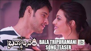 Bala Tripura song teaser - Brahmotsavam - idlebrain.com