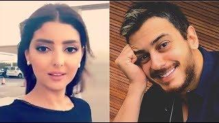 مريم سعيد تتحدث عن جديد قضية سعد المجرد في بث مباشر على إنستغرام