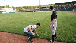 SUPER FUN DAY at a minor league game in Hickory, NC (featuring White Sox prospect Alex Katz)