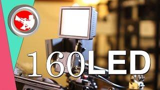 41 - التصوير السينمائي | LED 160 الإضاءة المتحركة و المرفقه مع الكاميرا