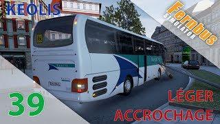 [Fernbus Simulator] Episode n°39 : Léger accrochage en MAN Lion's Coach Keolis !