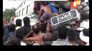 1 dead in bus truck head on collision near Jaraka