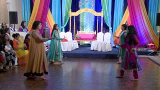Dance at An Indian Wedding Mehndi Ceremony Sagan Convention Centre & Banquet Hall Mississauga GTA