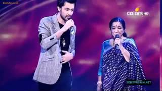 Atif Aslam Asha Bhosle Sings Chura Liya Hai Tumne At Sur Kshetra Promo HD YouTube   YouTube