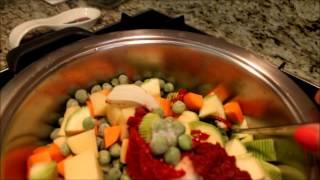 Sağlıklı ve Kolay Yemek- Bezelye Yapıyoruz