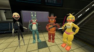 Left 4 Dead 2 with Five Nights at Freddy's 2 characters - Dead Air walkthrough