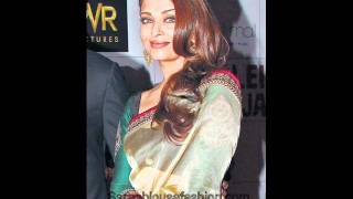 Aishwarya Rai Saree Blouse Designs