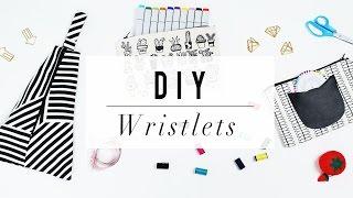 DIY Wristlet Clutch | No Sew Handbag Project | ANN LE
