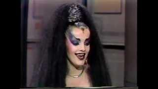 NINA HAGEN - LETTERMAN  INTERVIEW 1985