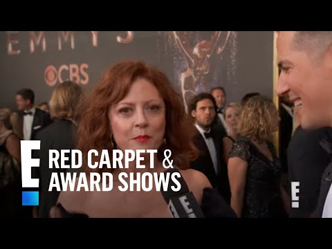 Xxx Mp4 Susan Sarandon Can T Get Enough Of Her E Gift At 2017 Emmys E Red Carpet Live Events 3gp Sex