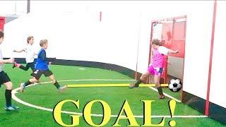 Boy Scores 5 Soccer Goals in 1 Soccer Game!