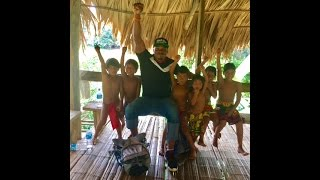 Philing the culture in the rainforest with the Embera people
