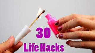 30 Incredible ideas and Life Hacks