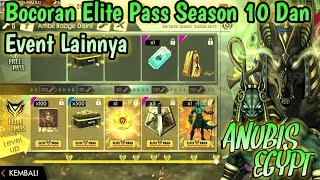 Bocoran Elite Pass Season 10 Tema Anubis Dan Event Lain Garena Free Fire Indonesia