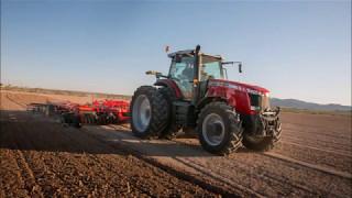 Massey Ferguson 8700 Series Tractors - Big Horsepower & Precision Farming
