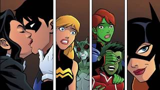 Who's Had Sex With Who In Young Justice?