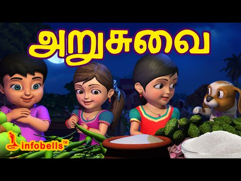 Xxx Mp4 அறுசுவை Tamil Rhymes For Children Learn Tastes Infobells 3gp Sex