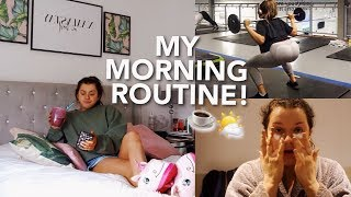 MY 2018 MORNING ROUTINE - A Typical Day! | Rachel Leary