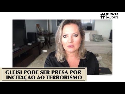 GLEISI PODE SER PRESA POR INCITAÇÃO AO TERRORISMO. #JornalDaJoice