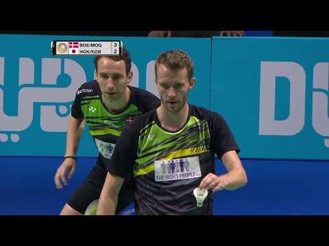 Xxx Mp4 Dubai World Superseries Finals 2017 Badminton Day 1 M2 MD Boe Mog Vs Hoki Koba 3gp Sex