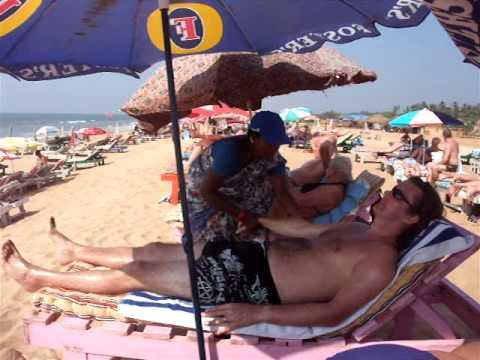Goa Candolim Beach Massage.AVI