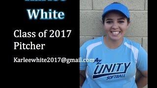 Karlee White; Pitcher