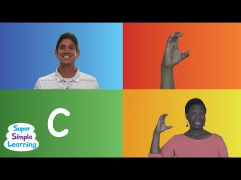 The Alphabet Chant Super Simple Songs