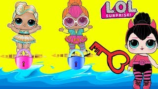 LOL Surprise Dolls JAIL RESCUE - Help Rescue Little Sisters and LOL Pets and Get Surprise Toys