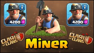 Clash of Clans - NEW TROOP! MINER! Intro, Gameplay, and 3 Star Attack Strategy! (SNEAK PEEK)