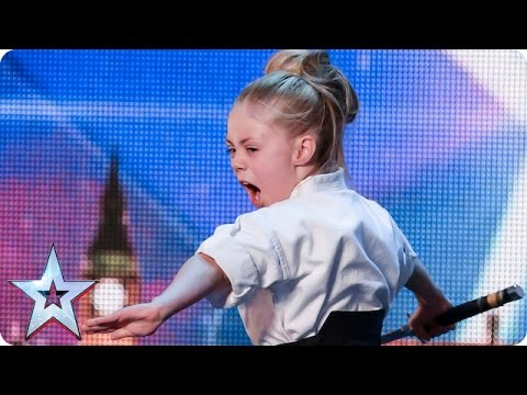 Don t mess with karate kid Jesse Audition Week 2 Britain s Got Talent 2015