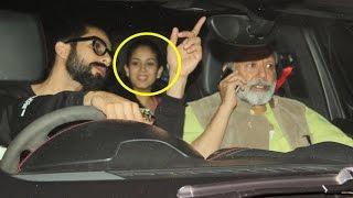Shahid Kapoor Watches Rangoon Movie With Wife Meera Rajput & Father Pankaj Kapoor